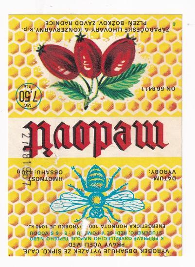 Etiketa medovit, Lihovary Plzeň - Ostatní