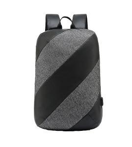 Moderní městský batoh pro muže i ženy - voděodolný, Anti-Theft, USB