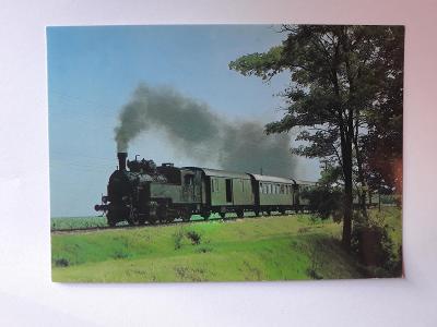 Lokomotiva 51.152 s osobním vlakem - VF