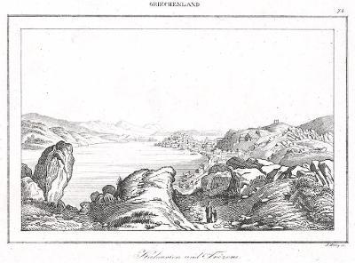 Kalvaria, Le Bas, oceloryt 1840