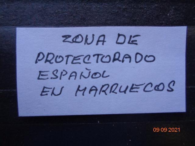 ZONA DE PROTECTORDO  ....... - Filatelie