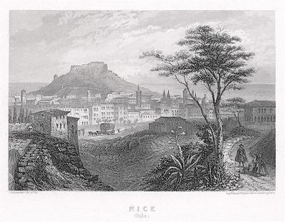 Nice, oceloryt (1850)