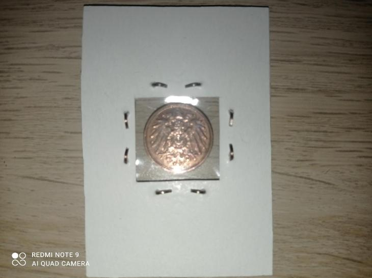 1 Pfennig 1911 A ! KRÁSNÝ STAV ! - Numismatika