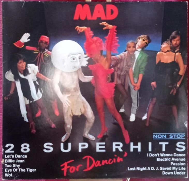 Mad – For Dancin' - 28 Superhits Nonstop  (LP 1983 Germany) - Hudba