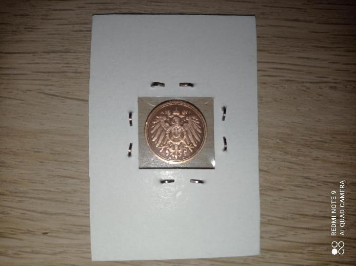 1 Pfennig 1909 A ! KRÁSNÝ STAV ! - Numismatika