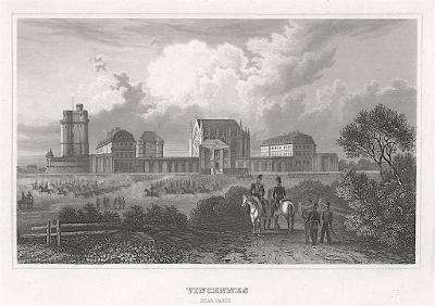 Vincennes, Meyer, oceloryt, 1850