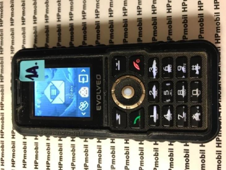 EVOLVEO Strong Phone Accu Black - Mobilní telefony