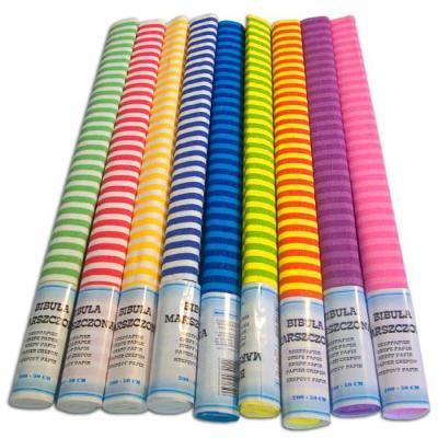 Krepový papír Art-Pap Mix - proužek 10 kusů