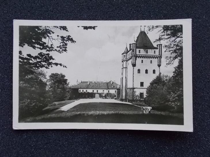 Opava Hradec nad Moravicí zámek - Pohlednice