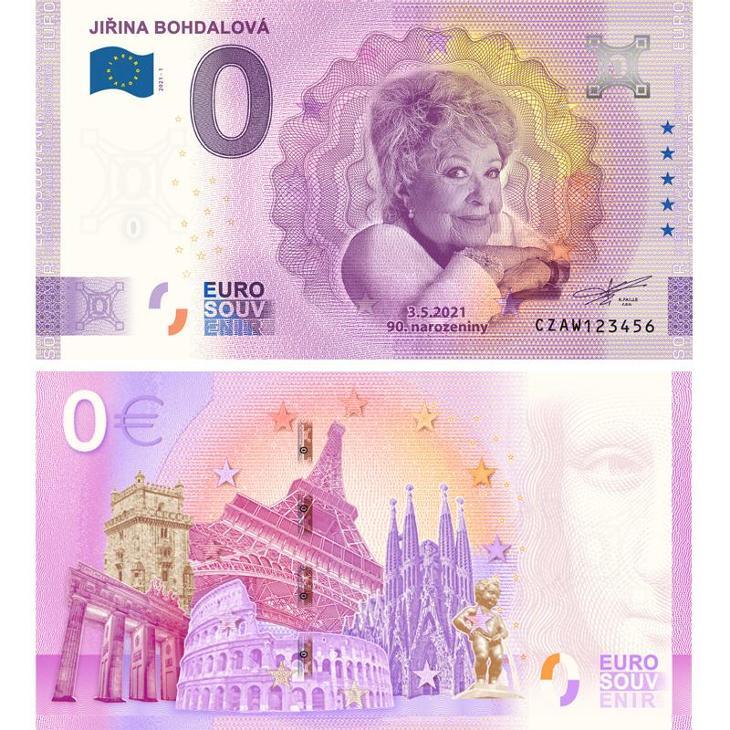 EUROBANKOVKA Jiřina BOHDALOVÁ - Bankovky