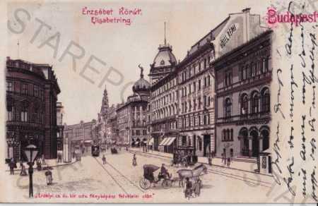 Budapešť (Maďarsko) Národní muzeum, DA, kresba - Pohlednice