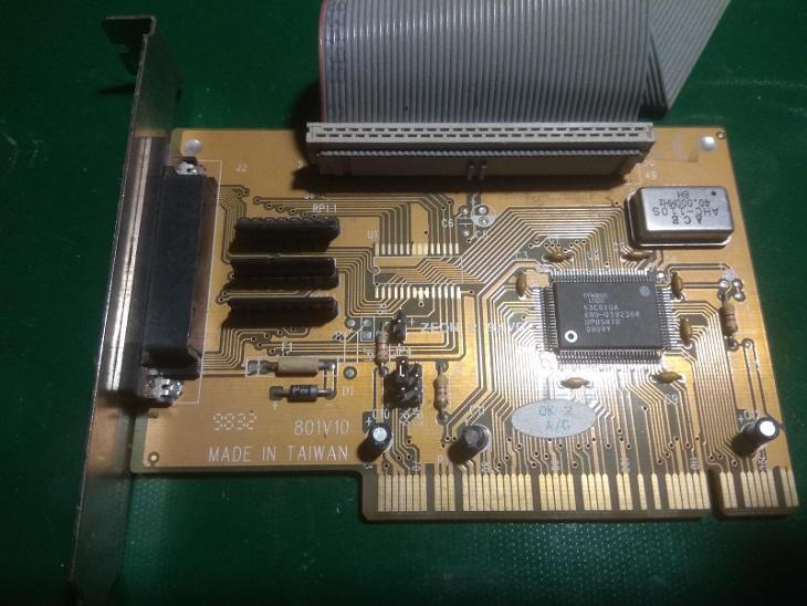 Řadič PCI - PC komponenty
