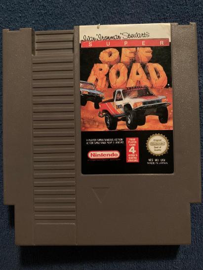 "Ivan ""Ironman"" Stewart's Super Off-road Nintendo PAL NES - Hry"