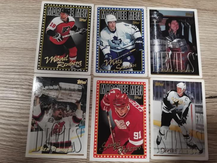 Hokejové karty Tepps 1996 - Sportovní sbírky