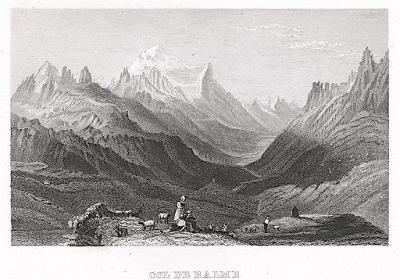Col de Balme, Kleine Univ., oceloryt, (1840)