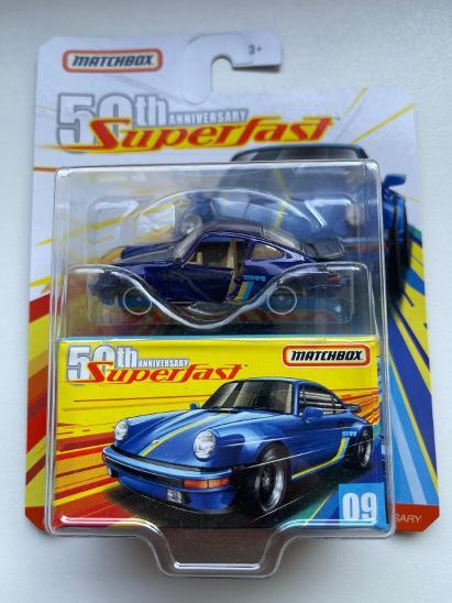 Matchbox Porsche 911 Superfast Anniversary - Modelářství