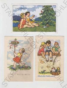 Marie Fischerová - Kvěchová, Velikonoce, dítě, vej