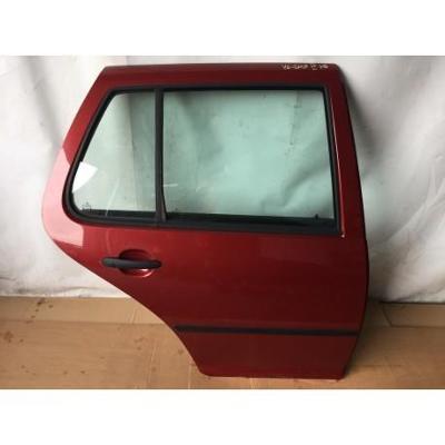 VW Golf IV HB 97- drzwi tylne prawe bordowe