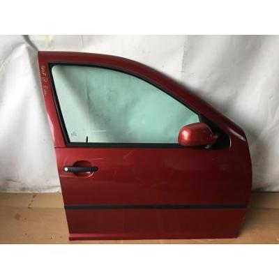 VW Golf IV 97- drzwi przednie prawe bordowe
