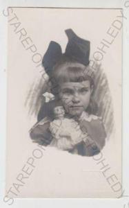 Děti - foto, hračka, panenka