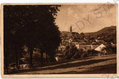 Kremnica Žiar n. Hronom částečný záběr města