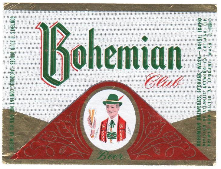 USA Bohemian Brg - Spokane - Nápojový průmysl