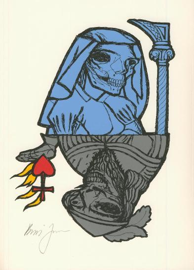 Jirků Boris, serigrafie, signováno - Umění