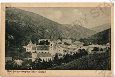 Trenčianské Teplice Trenčín celkový pohled