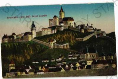 Trenčín částečný záběr města