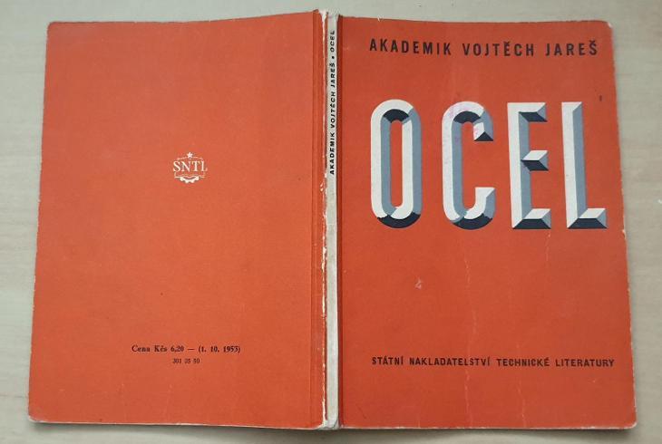 Ocel - Vojtěch Jareš 1955 - Knihy