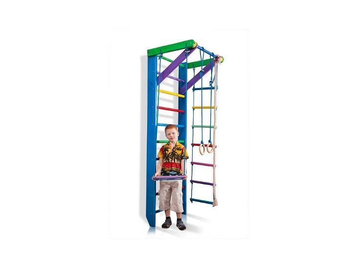 KinderSport Blue Ribstole dřevěné 220/240 x 80 cm  - Dětský pokoj