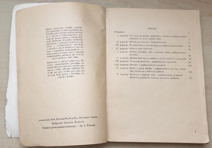 Mlékařství a mlékárenský průmysl v Československu - Josef Vavroušek - Knihy