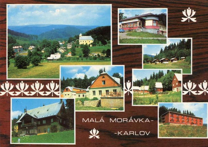 MALÁ MORÁVKA - KARLOV - Pohlednice