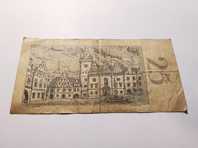 Bankovka 25 Kčs  serie E - N128 - Bankovky