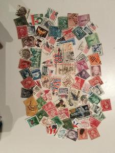Každá jiná - poštovní známky USA 95ks
