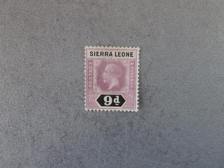 Sierra Leone 1921 (*) - Filatelie