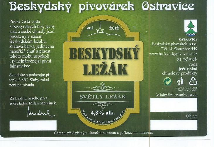 ČR 034 - Nápojový průmysl
