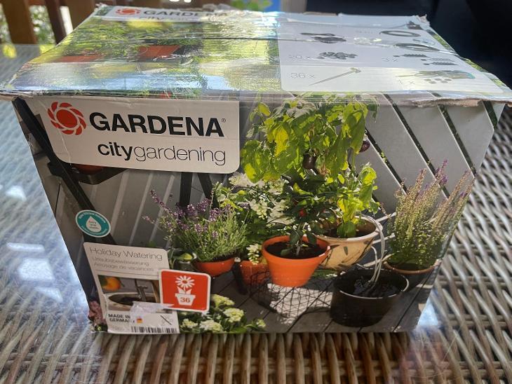 GARDENA 01265-20 zavlažovací systém při dlouhodobé nepřítomnosti - Zahrada