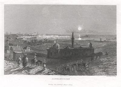 Alexandria, Haase , oceloryt, 1840