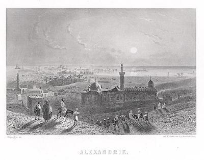 Alexandrie, oceloryt, 1860