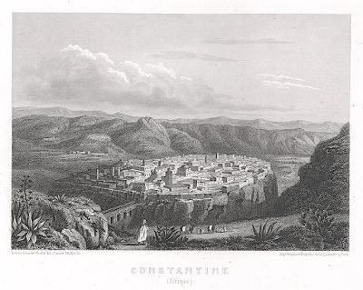 Constantine, oceloryt, 1860