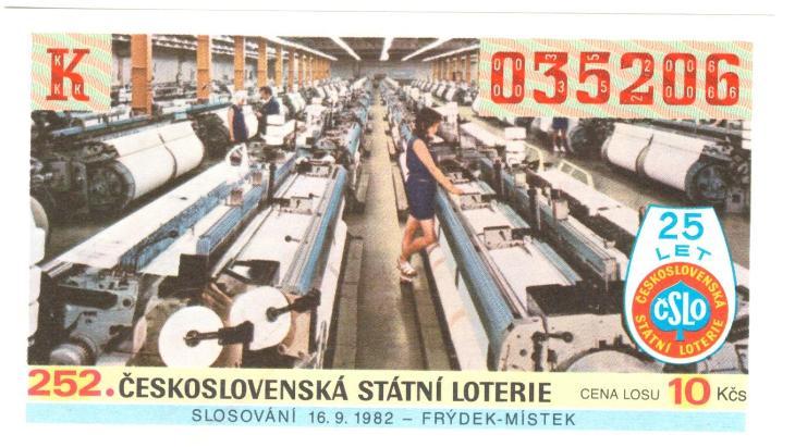 Los ČSL 1982 FRÝDEK- MÍSTEK - Ostatní
