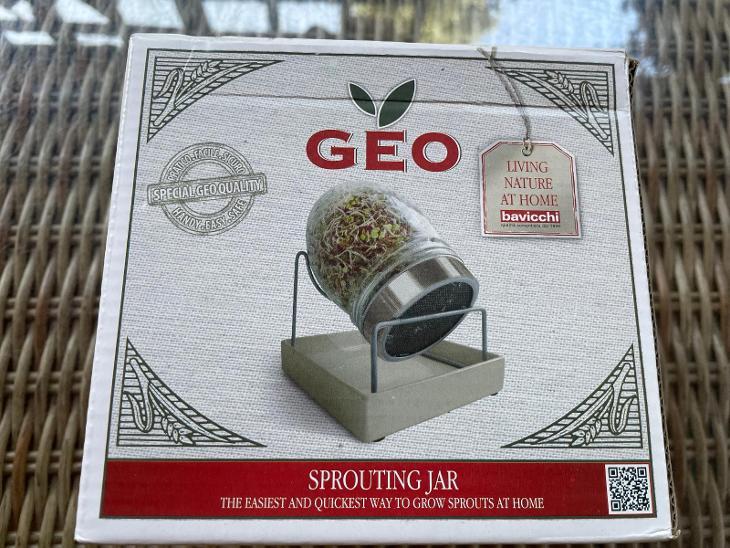 Bavicchi Sklo Geo Sprout Pěstujte své klíčky ve sklenici - Ostatní