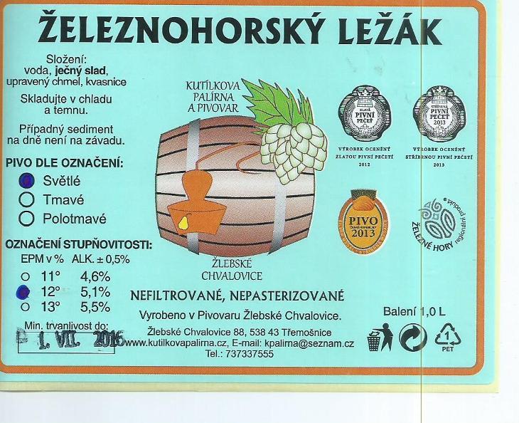 ČR 144 - Nápojový průmysl