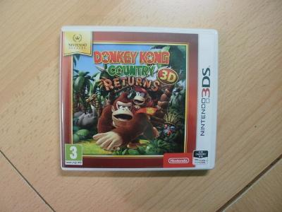 Hra na Nintendo 3DS + 2DS - Donkey Kong - Country Returns 3D