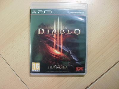 Hra na Ps 3 - Diablo III - Anglický manuál