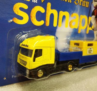 Reklamní kamion - pivovar Franken Brau
