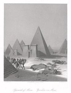 Meroe, Payne, oceloryt 1860