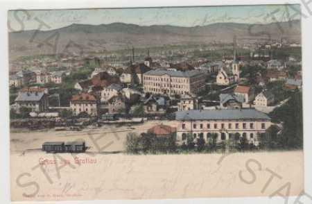 Liberec, Hrádek nad Nisou (Grottau), Pohled na měs