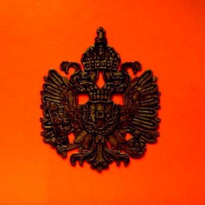 Plaketa či odznak Rakousko-Uherská Orlice 100x80x4 mm ,Monarchie